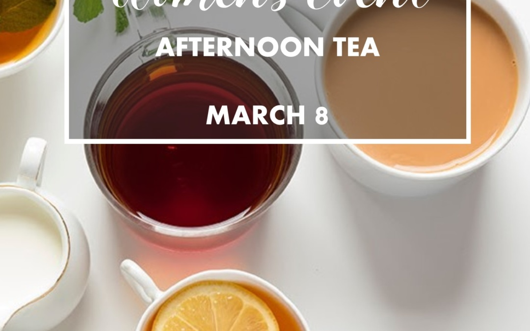Women's Event: Afternoon Tea